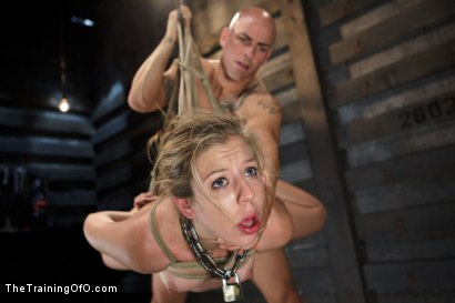 Photo number 6 from Training Chastity Lynn - Day 4 - Sexual Obedience shot for The Training Of O on Kink.com. Featuring Chastity Lynn and Derrick Pierce in hardcore BDSM & Fetish porn.