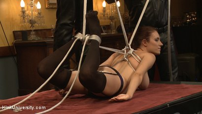 Photo number 4 from Two Knotty Boys - Live Workshop shot for Kink University on Kink.com. Featuring Krysta Kaos, Odile and Iona Grace in hardcore BDSM & Fetish porn.
