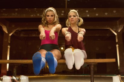 Photo number 3 from Dirty Socks and Roller Skates featuring Chastity Lynn and Lia Lor shot for Foot Worship on Kink.com. Featuring Lia Lor, Mark Wood and Chastity Lynn in hardcore BDSM & Fetish porn.