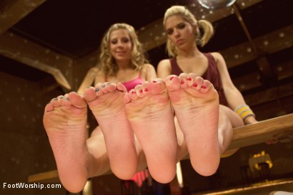 Photo number 4 from Dirty Socks and Roller Skates featuring Chastity Lynn and Lia Lor shot for Foot Worship on Kink.com. Featuring Lia Lor, Mark Wood and Chastity Lynn in hardcore BDSM & Fetish porn.