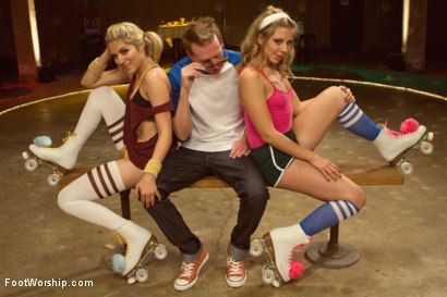 Photo number 6 from Dirty Socks and Roller Skates featuring Chastity Lynn and Lia Lor shot for Foot Worship on Kink.com. Featuring Lia Lor, Mark Wood and Chastity Lynn in hardcore BDSM & Fetish porn.
