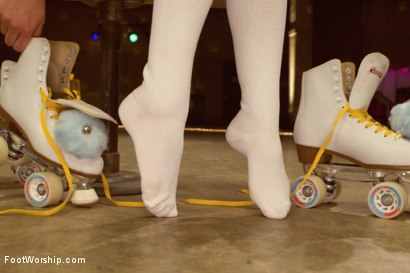 Photo number 2 from Dirty Socks and Roller Skates featuring Chastity Lynn and Lia Lor shot for Foot Worship on Kink.com. Featuring Lia Lor, Mark Wood and Chastity Lynn in hardcore BDSM & Fetish porn.