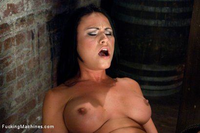 Photo number 4 from IF Harmony Rose & Charley Chase had a Baby the result would be Courtney Cox or Ashli Ames  shot for Fucking Machines on Kink.com. Featuring Ashli Ames in hardcore BDSM & Fetish porn.
