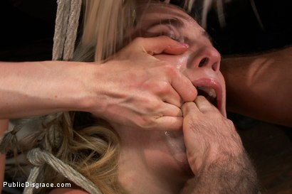 Photo number 4 from Lorelei Lee mops the floor with her plaything while the crowd applauds shot for Public Disgrace on Kink.com. Featuring Lia Lor, James Deen and Lorelei Lee in hardcore BDSM & Fetish porn.