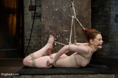 Photo number 5 from Top Girl/Girl Starlet Justine Joli Returns to HogTied shot for Hogtied on Kink.com. Featuring Justine Joli in hardcore BDSM & Fetish porn.
