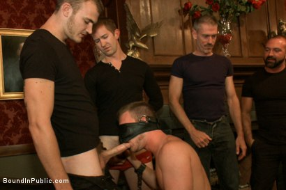 Photo number 2 from Brian Bonds Ass Punishment shot for Bound in Public on Kink.com. Featuring Brian Bonds and Josh West in hardcore BDSM & Fetish porn.