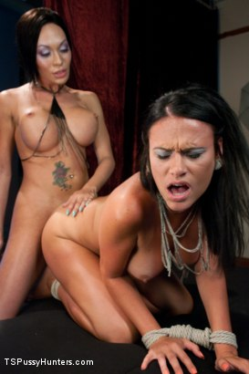 Photo number 6 from Mia Isabella as you have NEVER seen Her Before Fucking a Hot Girl shot for TS Pussy Hunters on Kink.com. Featuring Mia Isabella and Ashli Ames in hardcore BDSM & Fetish porn.
