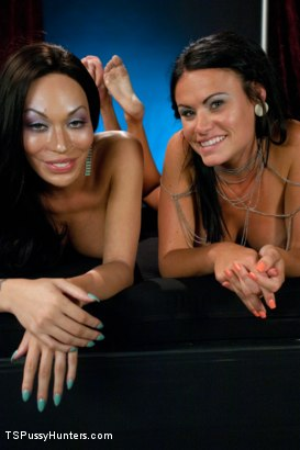Photo number 15 from Mia Isabella as you have NEVER seen Her Before Fucking a Hot Girl shot for TS Pussy Hunters on Kink.com. Featuring Mia Isabella and Ashli Ames in hardcore BDSM & Fetish porn.
