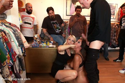 Photo number 3 from MILF with Big Booty and Big Titties Gets Ass Fucked in Public shot for Public Disgrace on Kink.com. Featuring Lorelei Lee, Francesca Le  and Mark Wood in hardcore BDSM & Fetish porn.