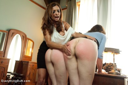 Photo number 5 from Anal Reform Girls: Punished with Enemas, Fisting and Strap-on shot for Everything Butt on Kink.com. Featuring Proxy Paige, Francesca Le  and Sarah Shevon in hardcore BDSM & Fetish porn.