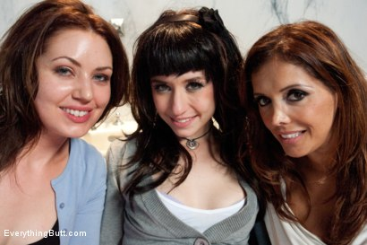 Photo number 15 from Anal Reform Girls: Punished with Enemas, Fisting and Strap-on shot for Everything Butt on Kink.com. Featuring Proxy Paige, Francesca Le  and Sarah Shevon in hardcore BDSM & Fetish porn.