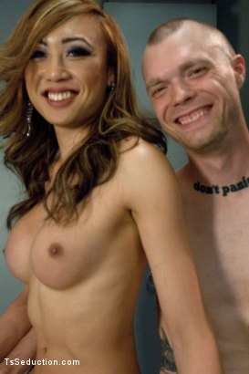 Photo number 15 from Welcome The Newest  Ts Dom - Venus: Marks her Man and then Shoves Her Cock in His Ass shot for TS Seduction on Kink.com. Featuring Venus Lux and Mike Panic in hardcore BDSM & Fetish porn.