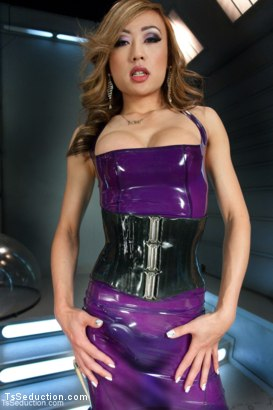 Photo number 1 from Welcome The Newest  Ts Dom - Venus: Marks her Man and then Shoves Her Cock in His Ass shot for TS Seduction on Kink.com. Featuring Venus Lux and Mike Panic in hardcore BDSM & Fetish porn.