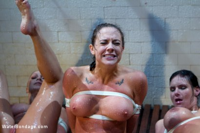 Photo number 5 from Part 1: The Shower shot for Water Bondage on Kink.com. Featuring Phoenix Marie, Chanel Preston, Lea Lexis and Bobbi Starr in hardcore BDSM & Fetish porn.