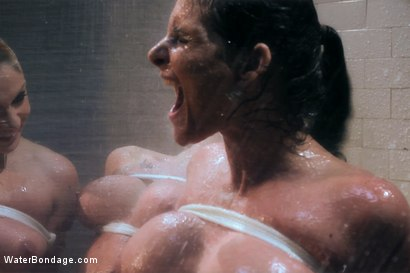 Photo number 12 from Part 1: The Shower shot for Water Bondage on Kink.com. Featuring Phoenix Marie, Chanel Preston, Lea Lexis and Bobbi Starr in hardcore BDSM & Fetish porn.