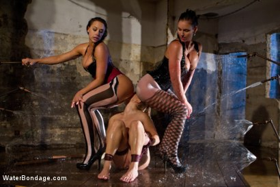 Photo number 11 from Part 2: Wet Stalkings shot for Water Bondage on Kink.com. Featuring Phoenix Marie, Chanel Preston, Lea Lexis and Bobbi Starr in hardcore BDSM & Fetish porn.