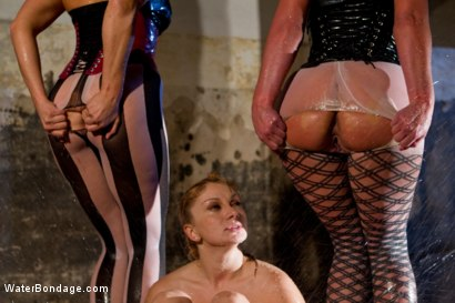 Photo number 9 from Part 2: Wet Stalkings shot for Water Bondage on Kink.com. Featuring Phoenix Marie, Chanel Preston, Lea Lexis and Bobbi Starr in hardcore BDSM & Fetish porn.