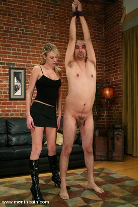 Photo number 1 from Audrey Leigh and Maximus shot for Men In Pain on Kink.com. Featuring Maximus and Audrey Leigh in hardcore BDSM & Fetish porn.