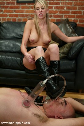 Photo number 9 from Audrey Leigh and Maximus shot for Men In Pain on Kink.com. Featuring Maximus and Audrey Leigh in hardcore BDSM & Fetish porn.