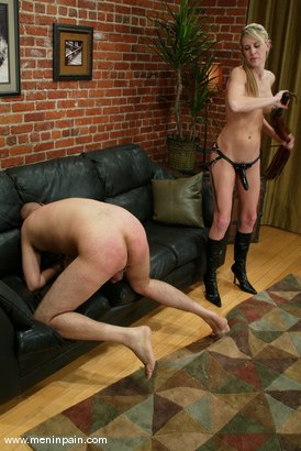 Photo number 14 from Audrey Leigh and Maximus shot for Men In Pain on Kink.com. Featuring Maximus and Audrey Leigh in hardcore BDSM & Fetish porn.