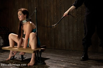 Photo number 8 from Bryn Blayne gets a smack-down into submission - Live Show Part 1 shot for Device Bondage on Kink.com. Featuring Bryn Blayne and Alani Pi in hardcore BDSM & Fetish porn.