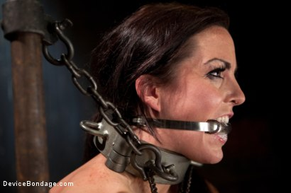 Photo number 12 from Bryn Blayne gets a smack-down into submission - Live Show Part 1 shot for Device Bondage on Kink.com. Featuring Bryn Blayne and Alani Pi in hardcore BDSM & Fetish porn.