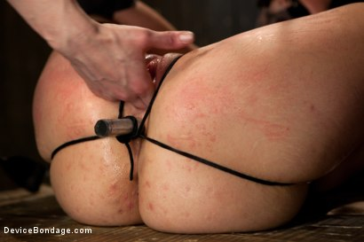 Photo number 10 from Bryn Blayne gets a smack-down into submission - Live Show Part 2 shot for Device Bondage on Kink.com. Featuring Bryn Blayne and Alani Pi in hardcore BDSM & Fetish porn.