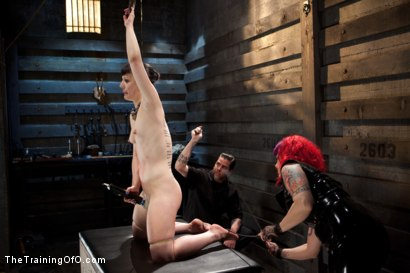 Photo number 6 from Training Katharine Kane-Final Day-Live shot for The Training Of O on Kink.com. Featuring Katharine Cane and Soma Snakeoil (Goddess Soma) in hardcore BDSM & Fetish porn.