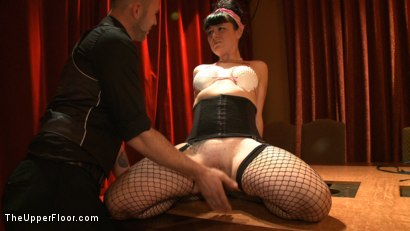 Photo number 1 from Dinner Party: Air Tight Guest shot for The Upper Floor on Kink.com. Featuring Dylan Ryan, Beretta James, Maestro Stefanos and The Pope in hardcore BDSM & Fetish porn.