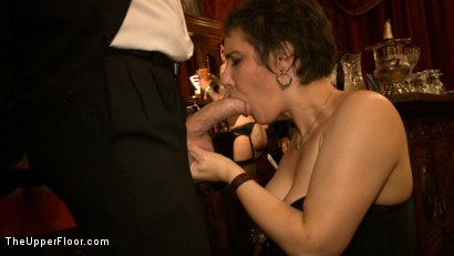 Photo number 12 from Slave Initiation: Rosie shot for The Upper Floor on Kink.com. Featuring Dylan Ryan, Kristina Rose, Beretta James, Soma Snakeoil (Goddess Soma), Jack Hammer, The Pope, Maestro Stefanos and Krysta Kaos in hardcore BDSM & Fetish porn.