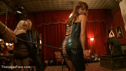 Photo number 16 from Slave Initiation: Rosie shot for The Upper Floor on Kink.com. Featuring Dylan Ryan, Kristina Rose, Beretta James, Soma Snakeoil (Goddess Soma), Jack Hammer, The Pope, Maestro Stefanos and Krysta Kaos in hardcore BDSM & Fetish porn.