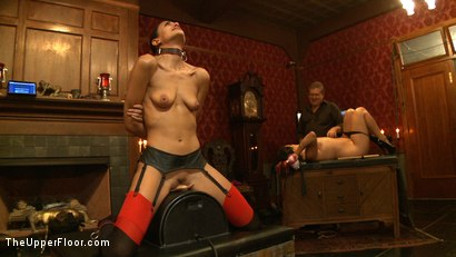 Photo number 10 from House Party: Debauchery  shot for The Upper Floor on Kink.com. Featuring Dylan Ryan, Lyla Storm, Derrick Pierce, Krysta Kaos and Maestro Stefanos in hardcore BDSM & Fetish porn.
