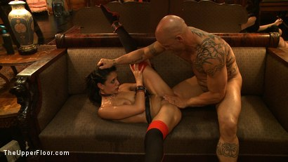 Photo number 11 from House Party: Debauchery  shot for The Upper Floor on Kink.com. Featuring Dylan Ryan, Lyla Storm, Derrick Pierce, Krysta Kaos and Maestro Stefanos in hardcore BDSM & Fetish porn.