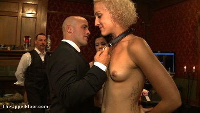 Photo number 9 from House Party: Debauchery  shot for The Upper Floor on Kink.com. Featuring Dylan Ryan, Lyla Storm, Derrick Pierce, Krysta Kaos and Maestro Stefanos in hardcore BDSM & Fetish porn.