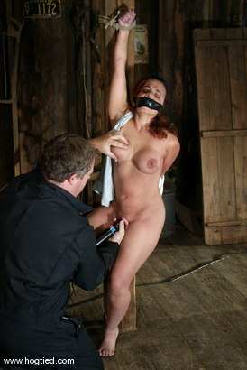 Photo number 2 from Jenya shot for Hogtied on Kink.com. Featuring Jenya in hardcore BDSM & Fetish porn.