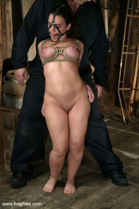 Photo number 7 from Jenya shot for Hogtied on Kink.com. Featuring Jenya in hardcore BDSM & Fetish porn.