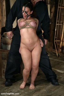 Photo number 7 from Jenya shot for Hogtied on Kink.com. Featuring Jenya in hardcore BDSM & Fetish porn.