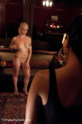 Photo number 2 from Paying Back a Debt with Her Pussy: Lorelei Lee and Annalise Rose shot for TS Pussy Hunters on Kink.com. Featuring Annalise Rose and Lorelei Lee in hardcore BDSM & Fetish porn.