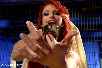Photo number 11 from Chastity POV BONUS with Nicki Hunter! shot for Divine Bitches on Kink.com. Featuring Nicki Hunter in hardcore BDSM & Fetish porn.