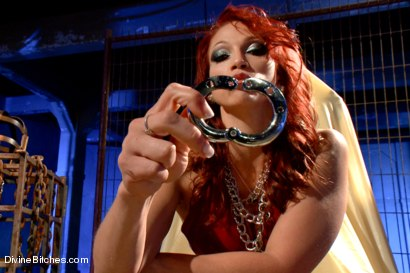 Photo number 12 from Chastity POV BONUS with Nicki Hunter! shot for Divine Bitches on Kink.com. Featuring Nicki Hunter in hardcore BDSM & Fetish porn.