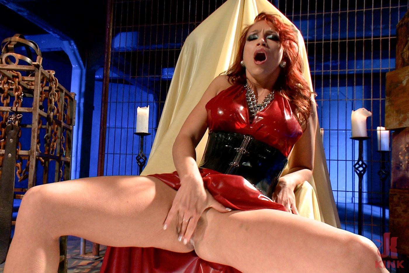 Photo number 4 from Mistress Nicki Hunter's Pussy Worship POV! <br> *******BONUS VIDEO********** shot for Divine Bitches on Kink.com. Featuring Nicki Hunter in hardcore BDSM & Fetish porn.