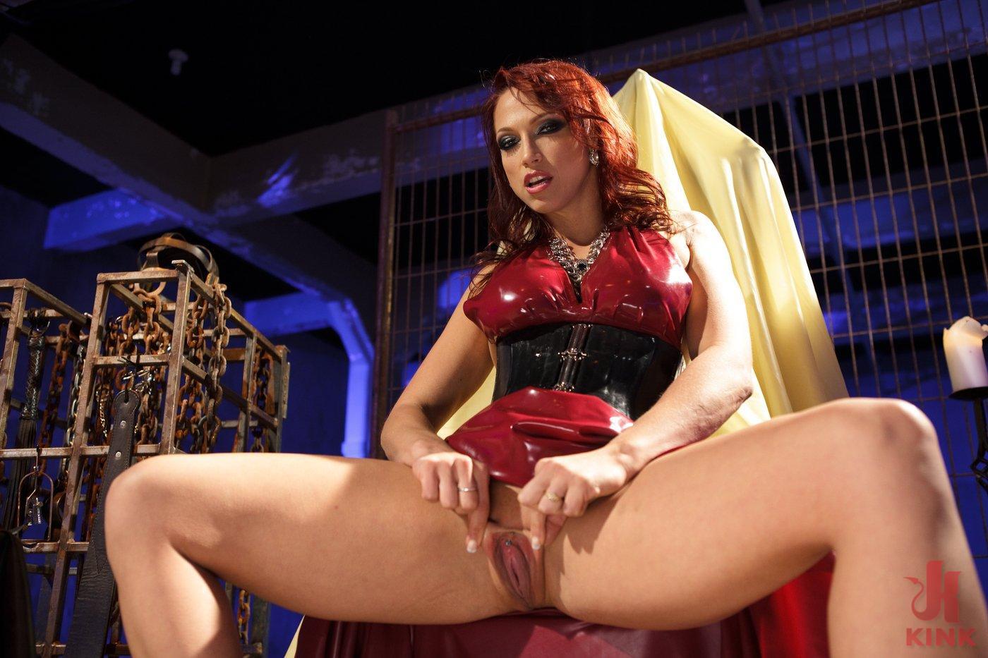 Photo number 8 from Mistress Nicki Hunter's Pussy Worship POV! <br> *******BONUS VIDEO********** shot for Divine Bitches on Kink.com. Featuring Nicki Hunter in hardcore BDSM & Fetish porn.