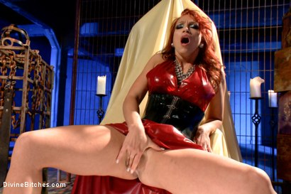 Photo number 4 from Mistress Nicki Hunter's Pussy Worship POV! <br> *******BONUS VIDEO********** shot for Divine Bitches on Kink.com. Featuring Nicki Hunter in hardcore BDSM & Fetish porn.