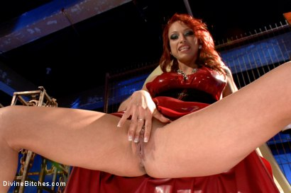Photo number 12 from Mistress Nicki Hunter's Pussy Worship POV! <br> *******BONUS VIDEO********** shot for Divine Bitches on Kink.com. Featuring Nicki Hunter in hardcore BDSM & Fetish porn.