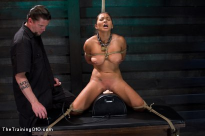 Photo number 11 from Training Adrianna Luna - Day 3 shot for The Training Of O on Kink.com. Featuring Adrianna Luna in hardcore BDSM & Fetish porn.