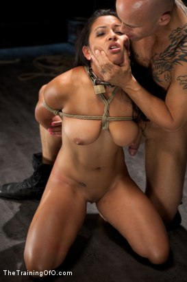 Photo number 13 from Training Adrianna Luna-Day 1 shot for The Training Of O on Kink.com. Featuring Adrianna Luna and Derrick Pierce in hardcore BDSM & Fetish porn.