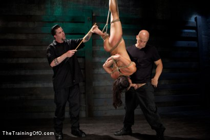 Photo number 2 from Training Adrianna Luna-Day 1 shot for The Training Of O on Kink.com. Featuring Adrianna Luna and Derrick Pierce in hardcore BDSM & Fetish porn.