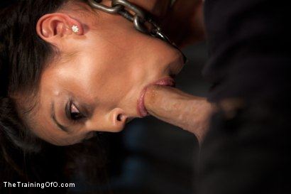 Photo number 3 from Training Adrianna Luna-Day 1 shot for The Training Of O on Kink.com. Featuring Adrianna Luna and Derrick Pierce in hardcore BDSM & Fetish porn.