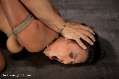 Photo number 9 from Training Adrianna Luna-Day 1 shot for The Training Of O on Kink.com. Featuring Adrianna Luna and Derrick Pierce in hardcore BDSM & Fetish porn.