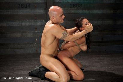 Photo number 7 from Training Adrianna Luna-Day 1 shot for The Training Of O on Kink.com. Featuring Adrianna Luna and Derrick Pierce in hardcore BDSM & Fetish porn.